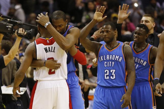 Washington Wizards vs. Oklahoma City Thunder - 11/10/15 NBA Pick, Odds, and Prediction