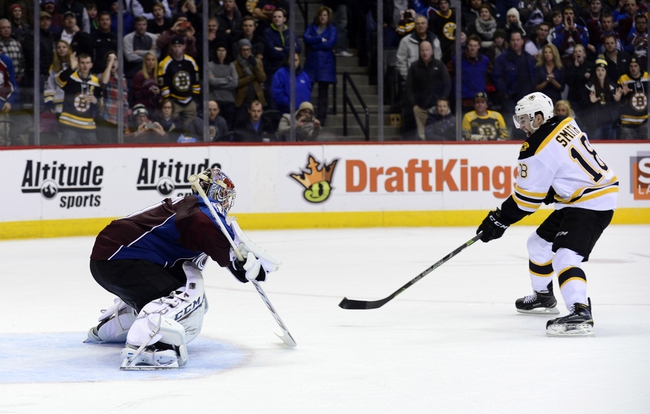 Bruins at Avalanche - 10/14/15 NHL Pick, Odds, and Prediction