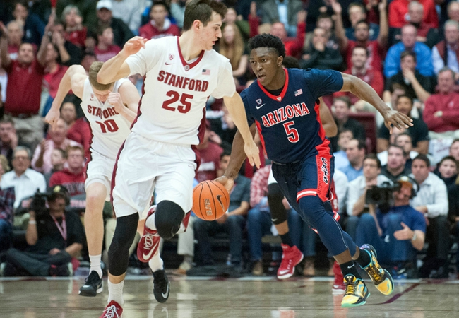 Arizona vs. Stanford - 3/7/15 College Basketball Pick, Odds, and Prediction