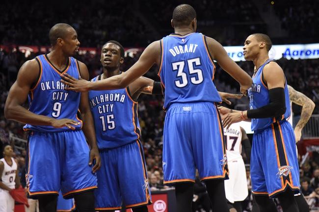 Thunder vs. Hawks - 3/20/15 NBA Pick, Odds, and Prediction