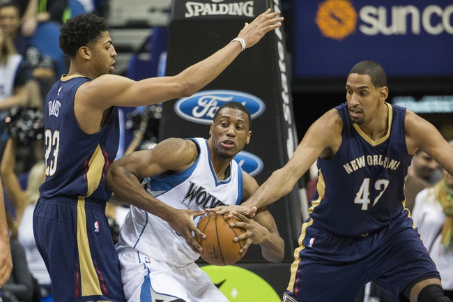 Pelicans vs. Timberwolves - 3/29/15 NBA Pick, Odds, and Prediction