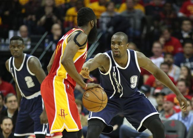 Thunder vs. Rockets - 4/5/15 NBA Pick, Odds, and Prediction
