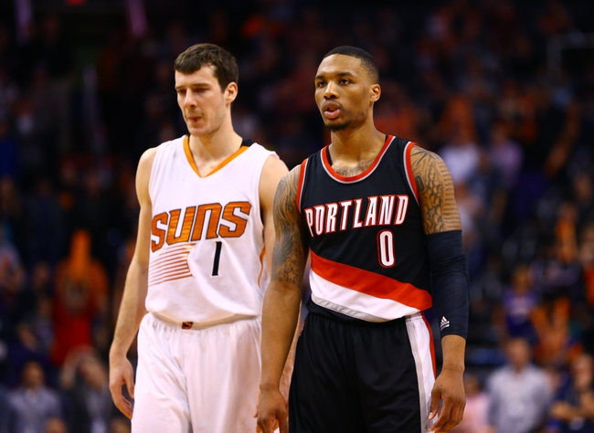 Trail Blazers vs. Suns - 2/5/15 NBA Pick, Odds, and Prediction