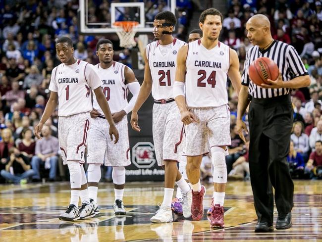South Carolina  vs. Missouri - 2/10/15 College Basketball Pick, Odds, and Prediction
