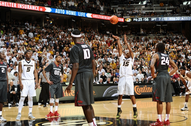 Arkansas vs. Missouri - 2/18/15 College Basketball Pick, Odds, and Prediction