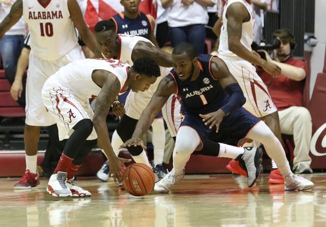 Auburn vs. Alabama - 2/17/15 College Basketball Pick, Odds, and Prediction