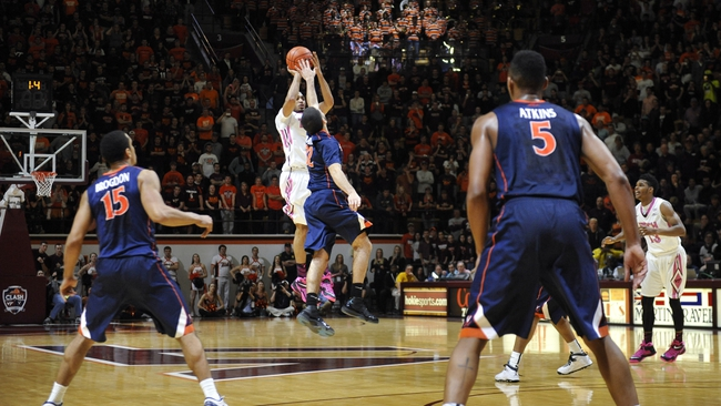 Virginia Cavaliers vs. Virginia Tech Hokies - 2/28/15 College Basketball Pick, Odds, and Prediction