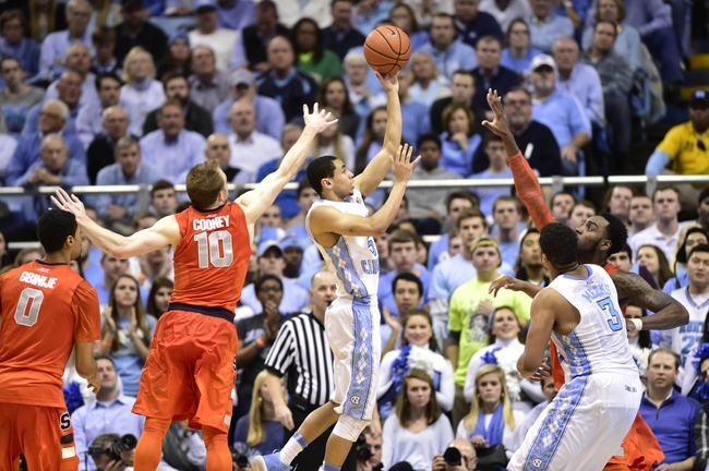Syracuse vs. North Carolina - 1/9/16 College Basketball Pick, Odds, and Prediction