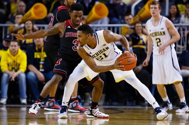 Nebraska Cornhuskers vs. Michigan Wolverines - 1/23/16 College Basketball Pick, Odds, and Prediction