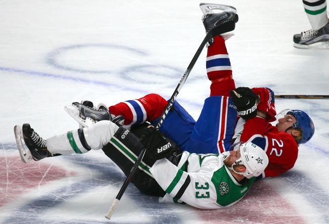 Dallas Stars vs. Montreal Canadiens - 12/19/15 NHL Pick, Odds, and Prediction