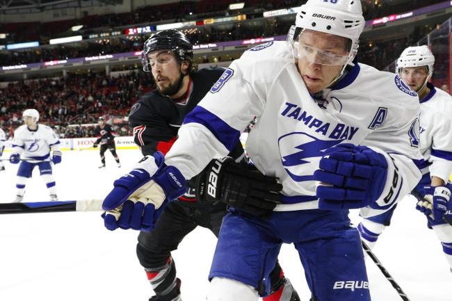 Carolina Hurricanes vs. Tampa Bay Lightning - 11/1/15 NHL Pick, Odds, and Prediction