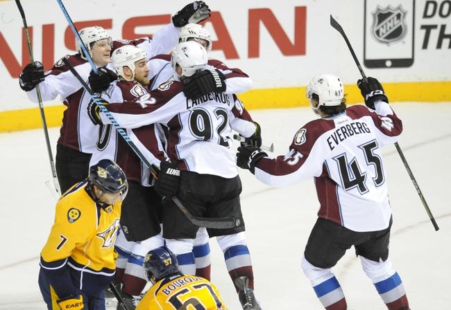 Colorado Avalanche vs. Nashville Predators 1/30/15 -  NHL Pick, Odds, and Prediction