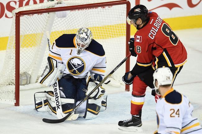 Calgary Flames vs. Buffalo Sabres - 12/10/15 NHL Pick, Odds, and Prediction