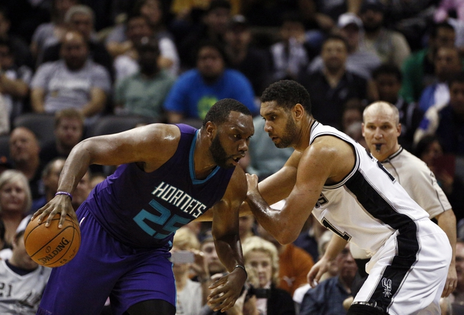 Hornets at Spurs - 11/7/15 NBA Pick, Odds, and Prediction