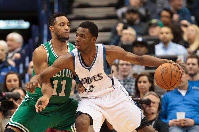 Boston Celtics vs. Minnesota Timberwolves - 12/21/15 NBA Pick, Odds, and Prediction