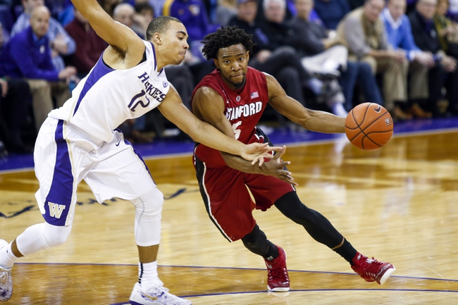 Washington vs. Stanford Pac-12 Tournament - 3/11/15 College Basketball Pick, Odds, and Prediction