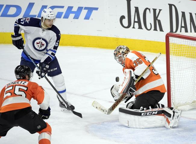 Winnipeg Jets vs. Philadelphia Flyers - 11/7/15 NHL Pick, Odds, and Prediction