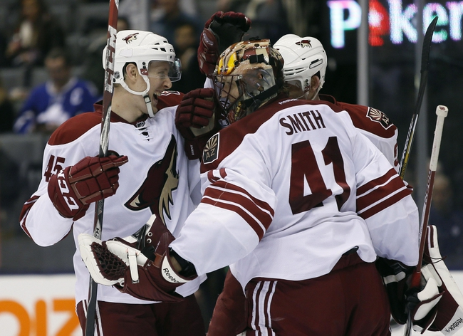 Toronto Maple Leafs vs. Arizona Coyotes - 10/26/15 NHL Pick, Odds, and Prediction