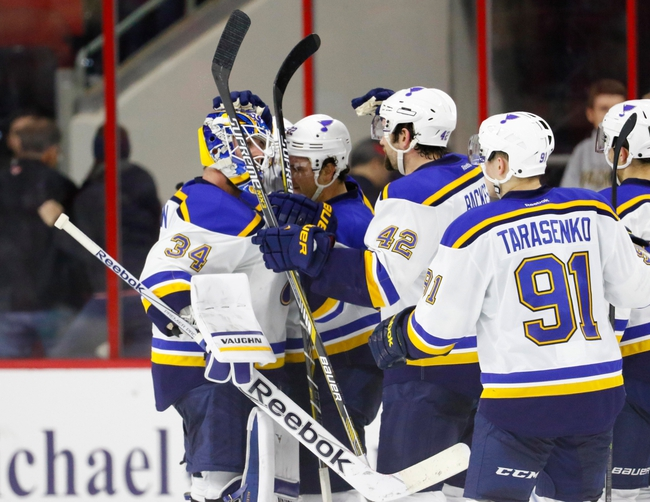 St. Louis Blues vs. Carolina Hurricanes - 1/14/16 NHL Pick, Odds, and Prediction