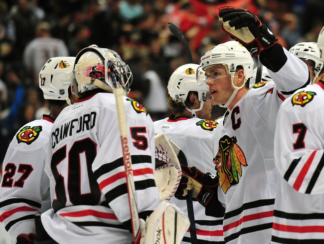 Chicago Blackhawks at Anaheim Ducks- 5/17/15 NHL Pick, Odds, and Prediction