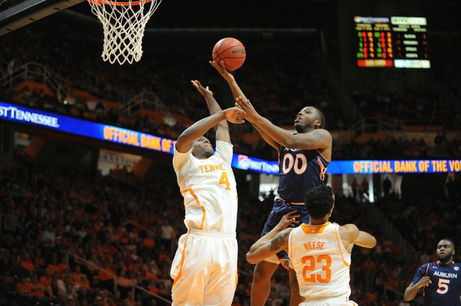 Auburn vs. Tennessee - 1/2/16 College Basketball Pick, Odds, and Prediction