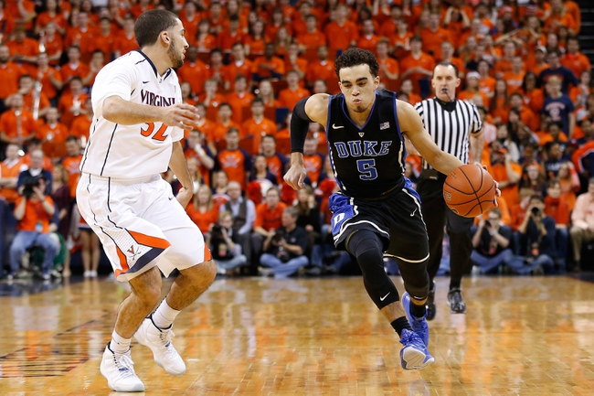 Duke Blue Devils vs. Notre Dame Fighting Irish - 2/7/15 College Basketball Pick, Odds, and Prediction