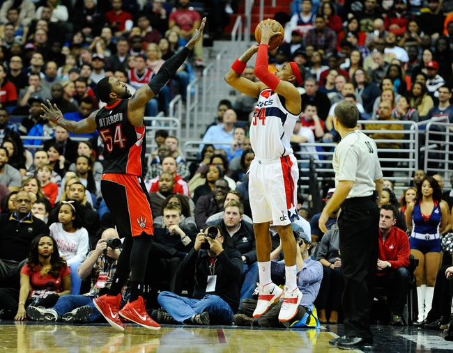 Raptors vs. Wizards - 2/11/15 NBA Pick, Odds, and Prediction