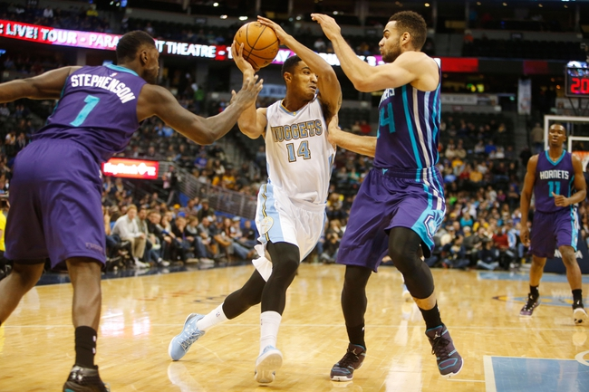 Hornets at Nuggets - 1/10/16 NBA Pick, Odds, and Prediction