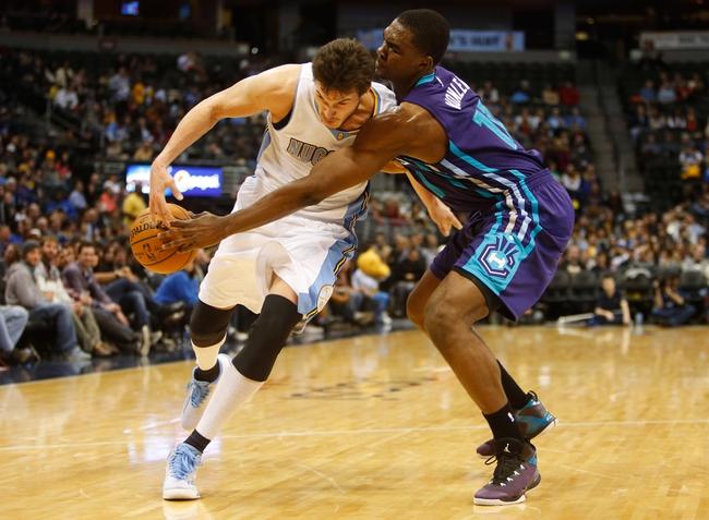 Denver Nuggets vs. Charlotte Hornets - 1/10/16 NBA Pick, Odds, and Prediction