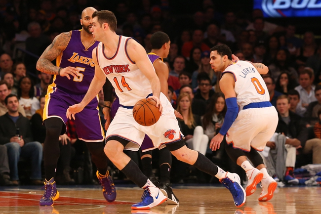 Los Angeles Lakers vs. New York Knicks - 3/12/15 NBA Pick, Odds, and Prediction