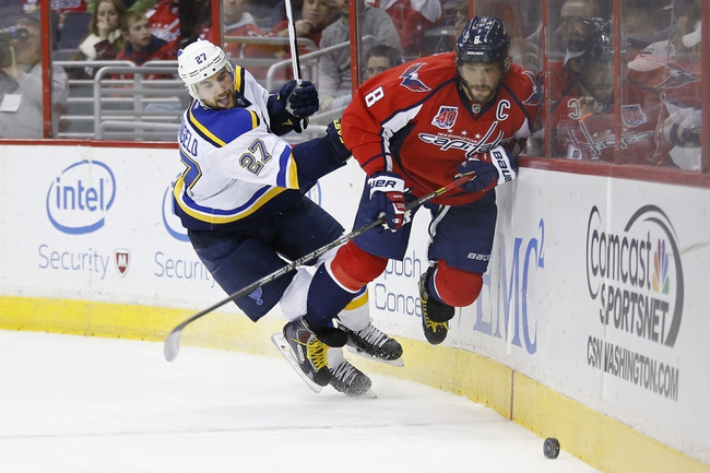 Blues vs. Capitals - 4/9/16 NHL Pick, Odds, and Prediction