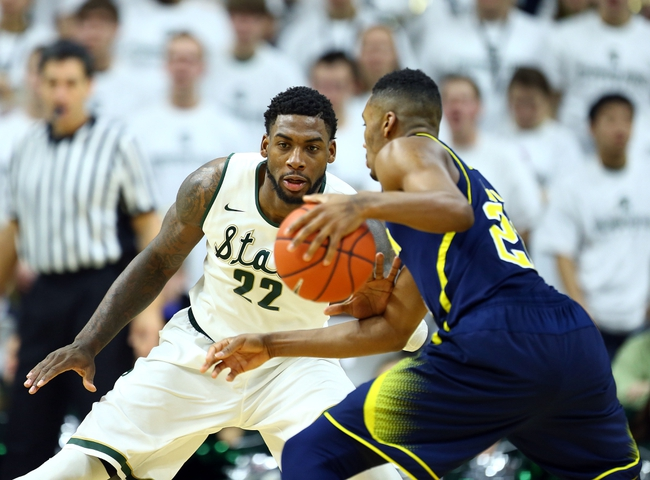 Michigan vs. Michigan State - 2/17/15 College Basketball Pick, Odds, and Prediction