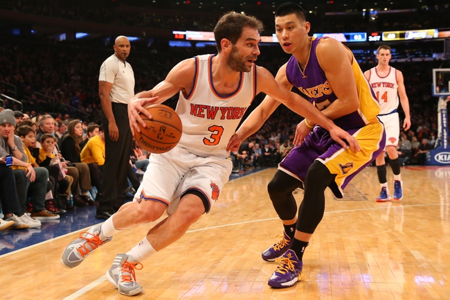 Knicks at Lakers - 3/12/15 NBA Pick, Odds, and Prediction