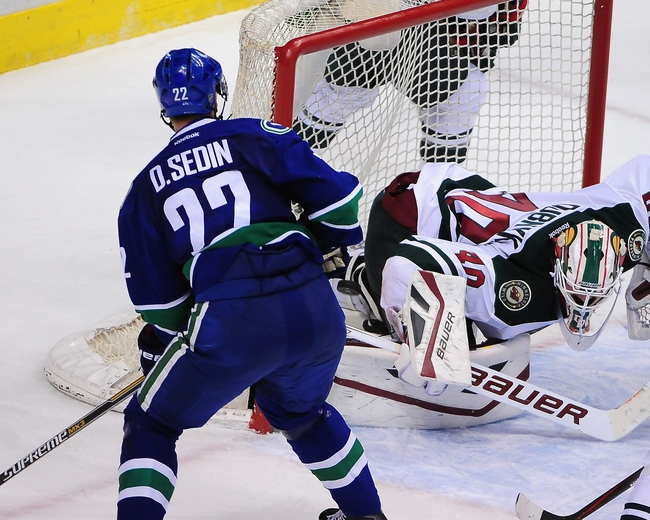 Minnesota Wild vs. Vancouver Canucks - 2/9/15 NHL Pick, Odds, and Prediction