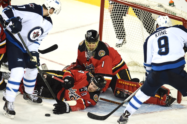 Jets vs. Flames - 4/11/15 NHL Pick, Odds, and Prediction