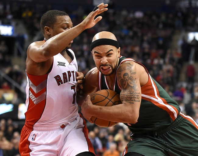 Bucks at Raptors - 11/1/15 NBA Pick, Odds, and Prediction