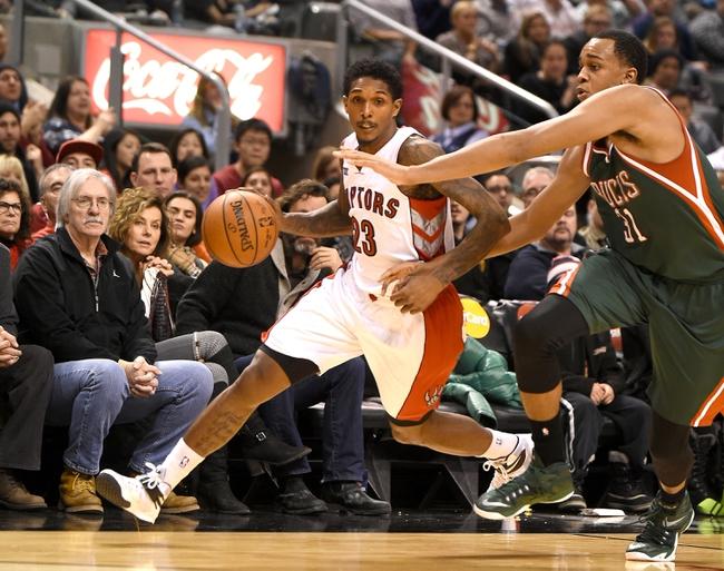 Toronto Raptors vs. Milwaukee Bucks - 11/1/15 NBA Pick, Odds, and Prediction