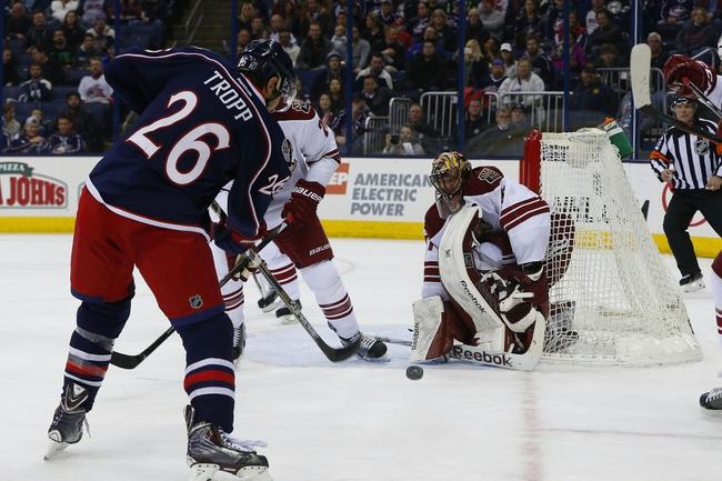 Arizona Coyotes vs. Columbus Blue Jackets - 12/17/15 NHL Pick, Odds, and Prediction
