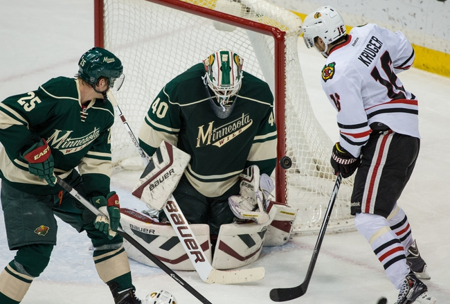 Blackhawks vs. Wild - 4/7/15 NHL Pick, Odds, and Prediction