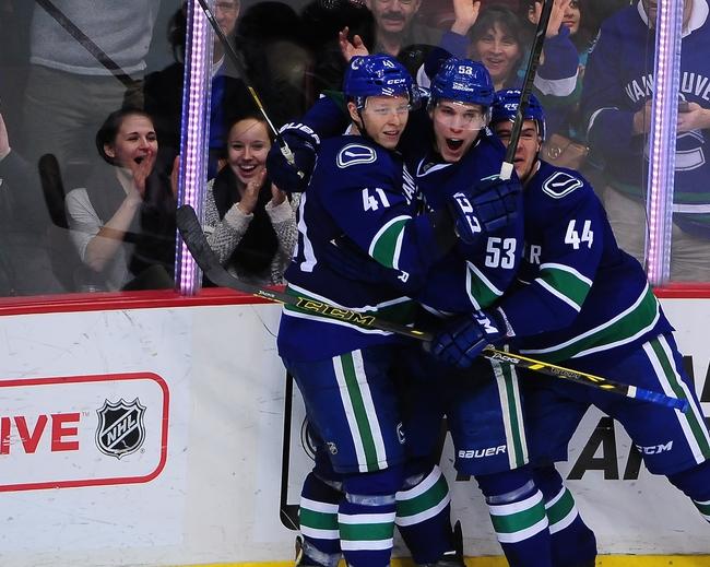 Vancouver Canucks vs. Winnipeg Jets - 3/24/15 NHL Pick, Odds, and Prediction