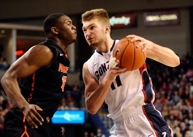 Pacific vs. Gonzaga - 2/19/15 College Basketball Pick, Odds, and Prediction