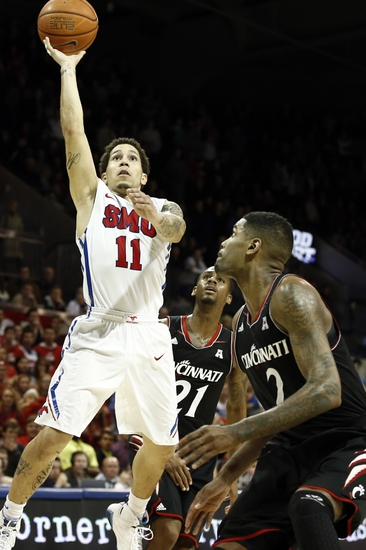 Cincinnati Bearcats vs. Southern Methodist Mustangs - 3/6/16 College Basketball Pick, Odds, and Prediction
