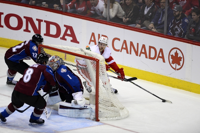 Red Wings vs. Avalanche - 2/12/16 NHL Pick, Odds, and Prediction