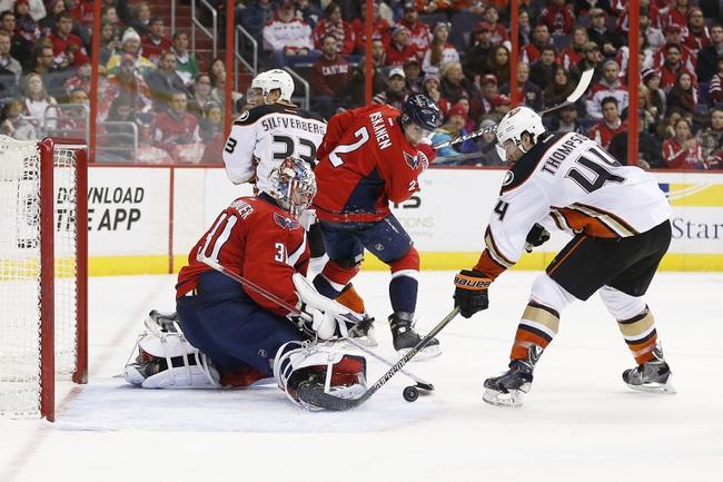 Anaheim Ducks vs. Washington Capitals - 2/15/15 NHL Pick, Odds, and Prediction