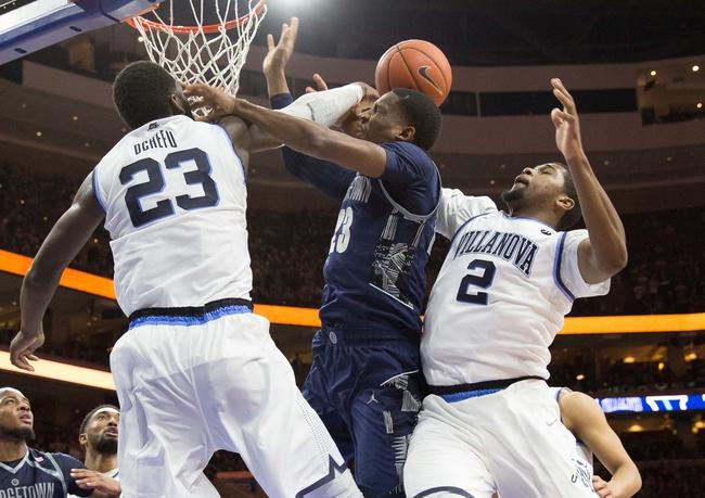 Georgetown vs. Villanova - 1/16/16 College Basketball Pick, Odds, and Prediction