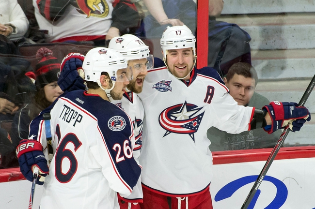 Blue Jackets vs. Sabres - 2/24/15 NHL Pick, Odds, and Prediction