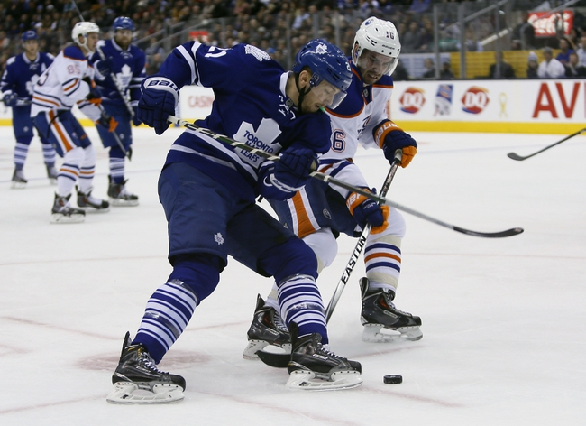 Edmonton Oilers vs. Toronto Maple Leafs - 3/16/15 NHL Pick, Odds, and Prediction