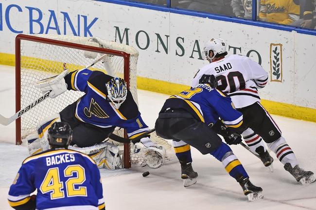 Blackhawks vs. Blues - 4/5/15 NHL Pick, Odds, and Prediction