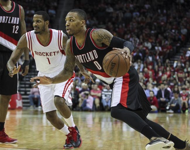 Trail Blazers vs. Rockets - 3/11/15 NBA Pick, Odds, and Prediction