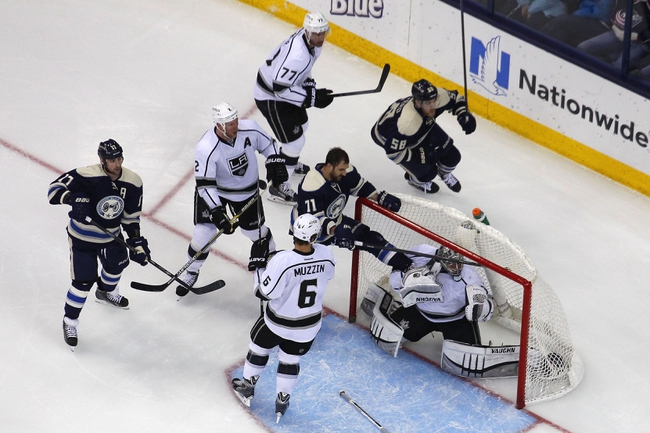 Los Angeles Kings vs. Columbus Blue Jackets - 11/5/15 NHL Pick, Odds, and Prediction